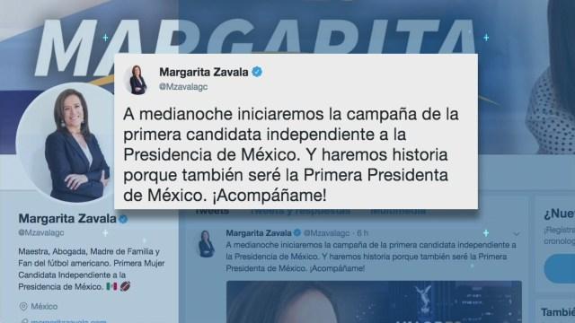 Margarita Zavala se alista para la campaña electoral
