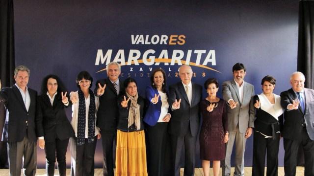 Margarita Zavala presenta a integrantes de su Consejo Político