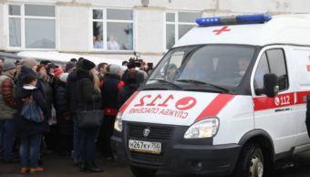 Más de 75 niños se intoxican con gas en Moscú