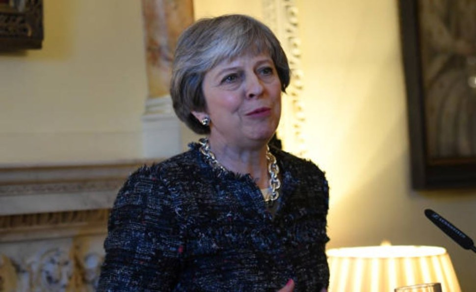 Theresa May, primera Ministra de Reino Unido. (Gettyimages)