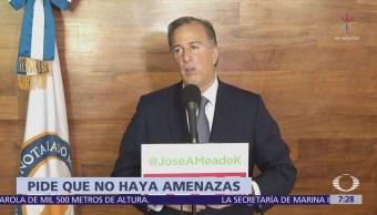 Meade cuestiona capacidad de López Obrador para contrastar ideas
