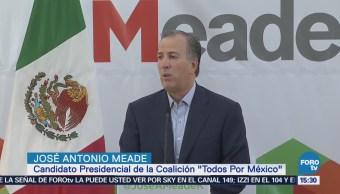 Meade Iniciará Campaña Mérida
