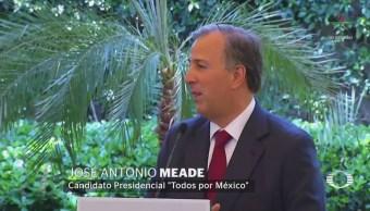 Meade se pronuncia contra planes de AMLO sobre amparos por aeropuerto