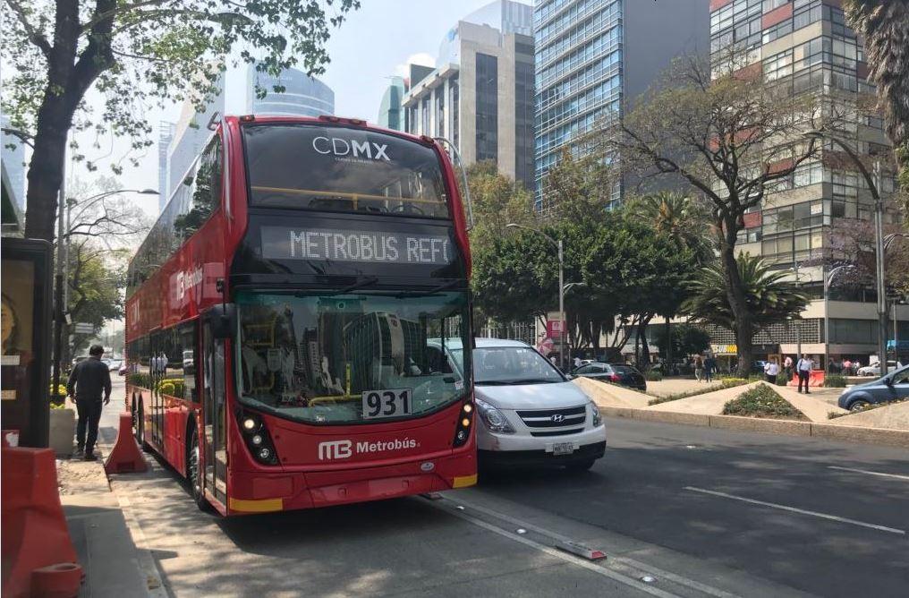 Línea 7 del Metrobús arranca servicio completo en Reforma; cuesta 6 pesos