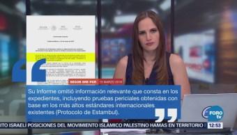 México responde a ONU por denuncia de torturas en caso Ayotzinapa