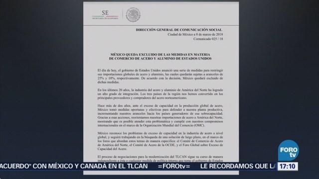 México y Canadá reaccionan a las medidas arancelarias de Trump