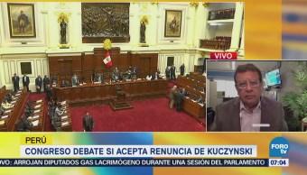 Militares y Policía de Perú, en alerta máxima tras renuncia de Kuczynski