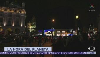 Millones de personas apoyan 'La Hora del Planeta'