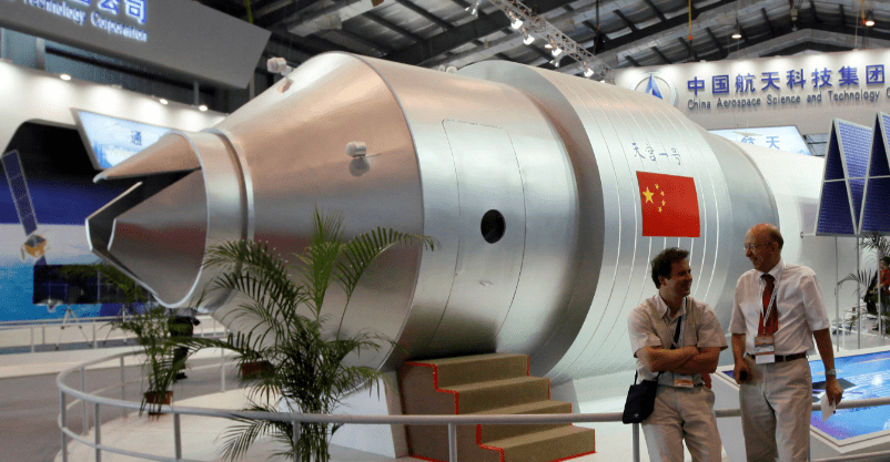 Estación espacial china podría impactar en Chile esta semana
