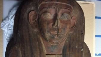 Australia halla momia en sarcófago egipcio de 2,500 años que creía vacío