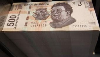 Moneda mexicana se aprecia, en línea con otras monedas emergentes
