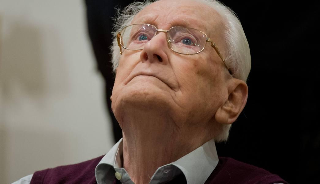 Muere 96 años Oskar Gröning contable Auschwitz