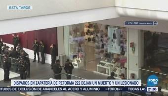 Muere mujer que fue atacada en Reforma 222