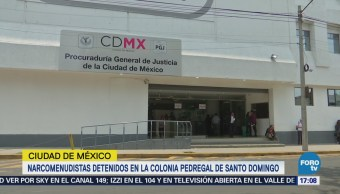 Narcomenudistas Detenidos Colonia Pedregal Santo Domingo