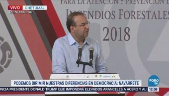Navarrete Prida resalta importancia de las elecciones del 2018
