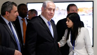 Benjamin Netanyahu inaugura muestra Jerusalén ONU