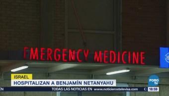 Netanyahu hospital primer ministro israelí Benjamin