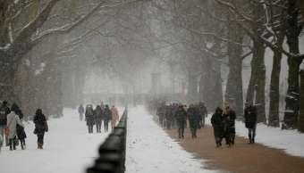 Londres moviliza soldados para enfrentar ola de frío Bestia del Este