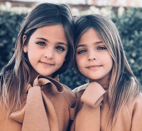 Estas Dos Niñas Fueron Nombradas Las Más Hermosas Del Mundo