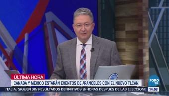 México Canadá Estarán Exentos Aranceles Nuevo Tlcan Steven Mnuchin