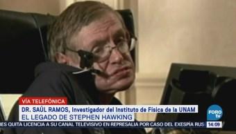 Hallazgos de Hawking sí califican para Premio Nobel, dice investigador de la UNAM