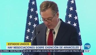 Estados Unidos y la Unión Europea buscan solución para aranceles