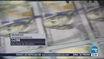 Banco México Aumentan Reservas Internacionales País