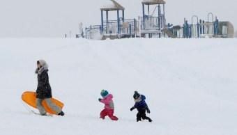 Olas de frío en EU están conectadas con temperaturas Ártico