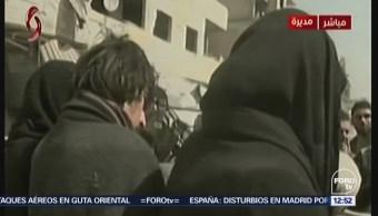 ONU denuncia violencia sexual durante guerra en Siria