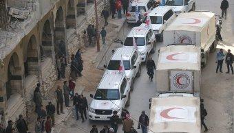ONU pide dejar entrar Siria más convoyes ayuda humanitaria
