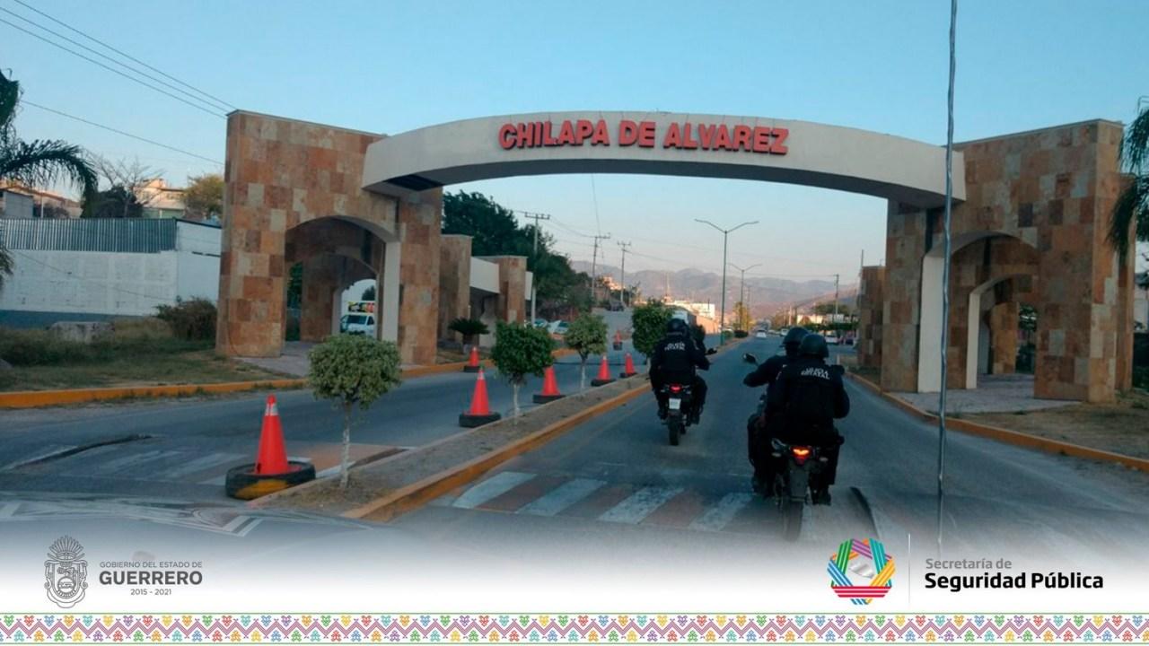 Refuerzan la seguridad en Chilapa, Guerrero