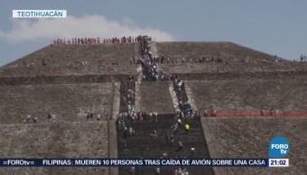 Operativo de seguridad en Teotihuacán para recibir equinoccio