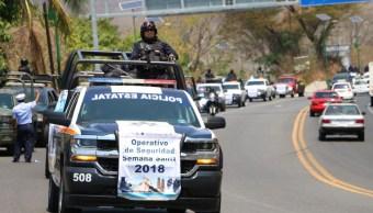 Desplegarán a más de 5 mil elementos durante Semana Santa en Guerrero