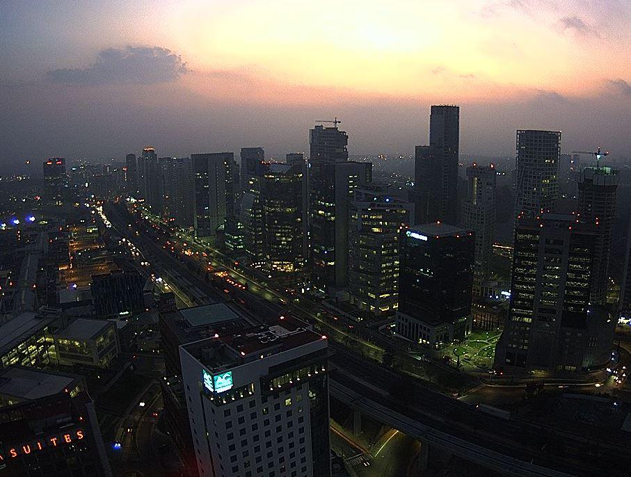 Prevén tarde con lluvia para la Ciudad de México