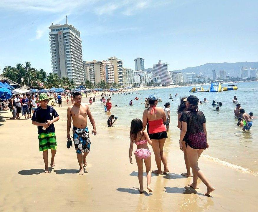 Persiste ola de calor en gran parte de Guerrero
