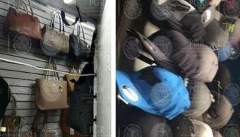 PGR decomisa más de 100 mil objetos pirata