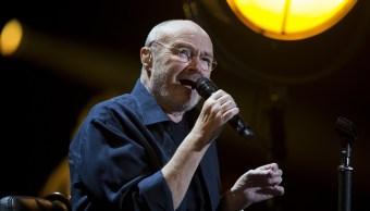 Phil Collins complace 15 mil fans en el Palacio de los Deportes