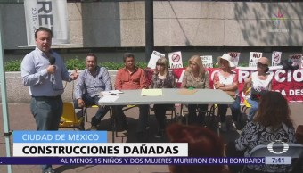 Piden investigar colapso de edificios nuevos en Benito Juárez tras sismo 19S