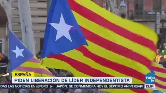 Piden Liberación Líder Independentista España
