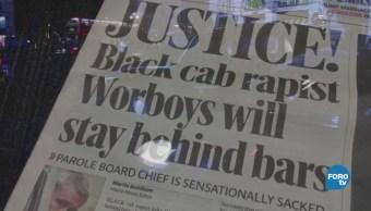 Policía de Londres detiene a taxista violador