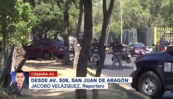 Policías Frustran Asalto San Juan Aragón