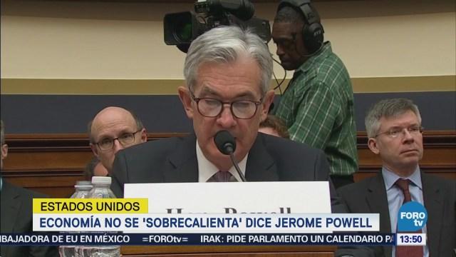 Powell no ve señales de sobrecalentamiento de la economía