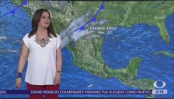 Prevén fuertes vientos en norte y noroeste de México