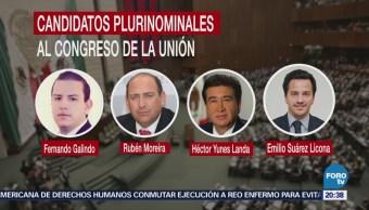 PRI define a sus candidatos plurinominales al Congreso