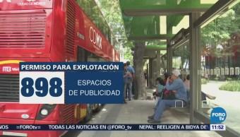 Publicidad en Línea 7 del Metrobús dejará ganancias por 2 mil mdp