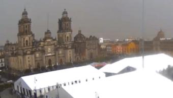 Apuntalamiento de Catedral tras sismo funcionó ante impacto de rayo, dice arquitecto