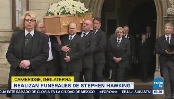 Realizan Funerales Stephen Hawking Cambridge Inglaterra