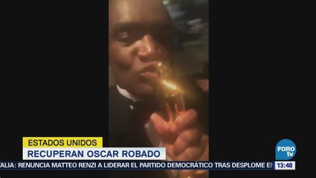 Recuperan Oscar Robado Frances Mcdormand