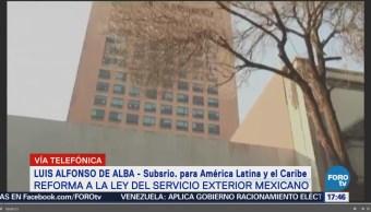 Reforma a la Ley del Servicio Exterior Mexicano