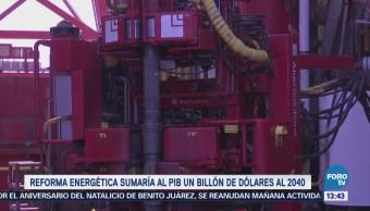 Reforma Energética Puede Sumar Billón Dólares Economía Mexicana